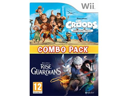 Wii The Croods + Rise of the Guardians (2x hra)