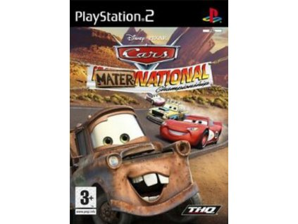 PS2 Cars Mater National Championship