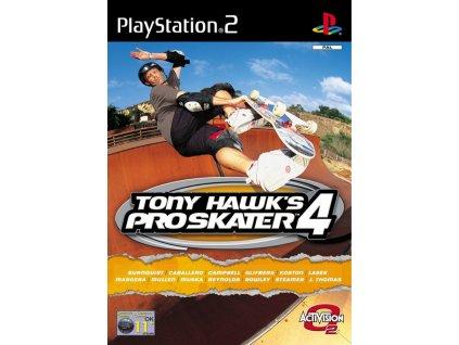 PS2 Tony Hawk's Pro Skater 4
