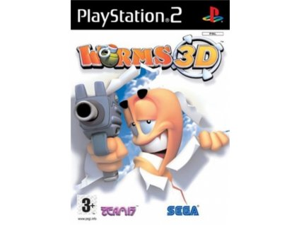 PS2 Worms 3d