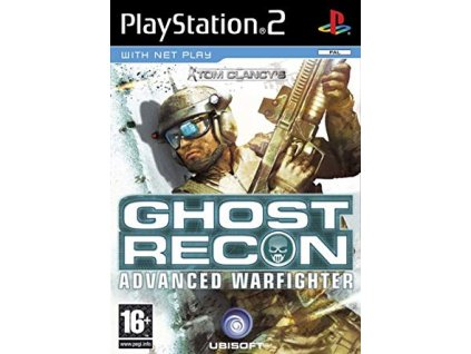 PS2 Tom Clancy's Ghost Recon: Advanced Warfighter