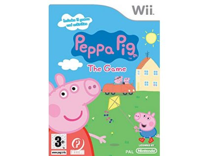 Wii Peppa Pig The Game