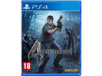 PS4 Resident Evil 4 HD (nová)