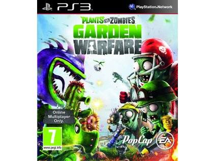 PS3 Plants Vs. Zombies Garden Warfare