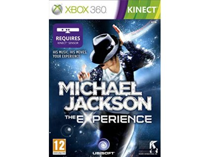 XBOX 360 Michael Jackson The Experience