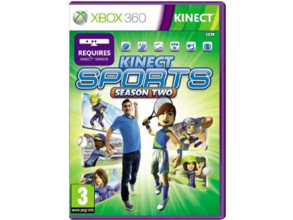 XBOX 360 Kinect Sports Season 2 X360