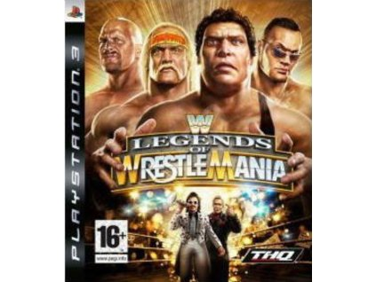 PS3 WWE Legends of Wrestlemania