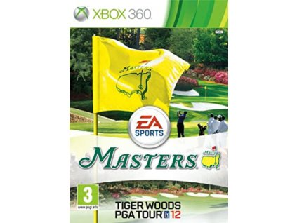 XBOX 360 Tiger Woods PGA Tour 12