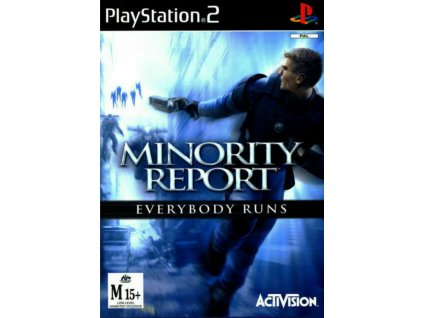 PS2 Minority Report: Everybody Runs