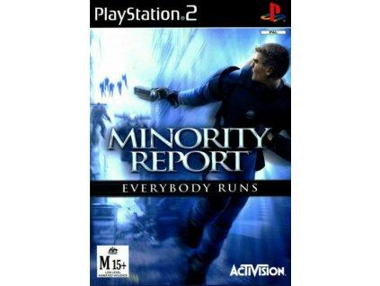 PS2 Minority Report Everybody Runs