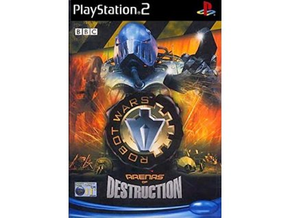 PS2 ROBOT WARS - ARENAS OF DESTRUCTION