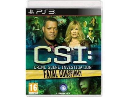 PS3 CSI Fatal Conspiracy