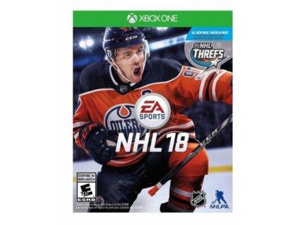 XBOX ONE NHL 18 CZ