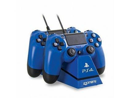 4GAMERS Nabíjecí stanice pro PS4 ovladače