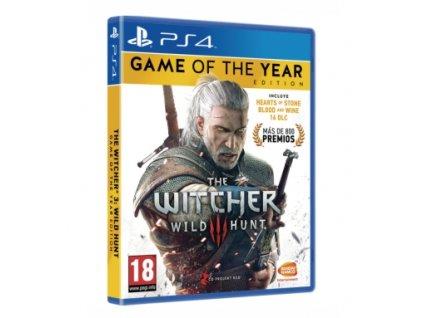 PS4 The Witcher 3 GOTY Edition CZ
