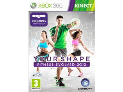 XBOX 360 Your Shape: Fitness Evolved 2012