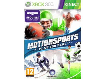 XBOX 360 Motion sports: Play for Real