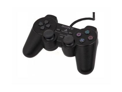 PS2 kabelový ovladač SONY Dualshock ORIGINÁLNÍ