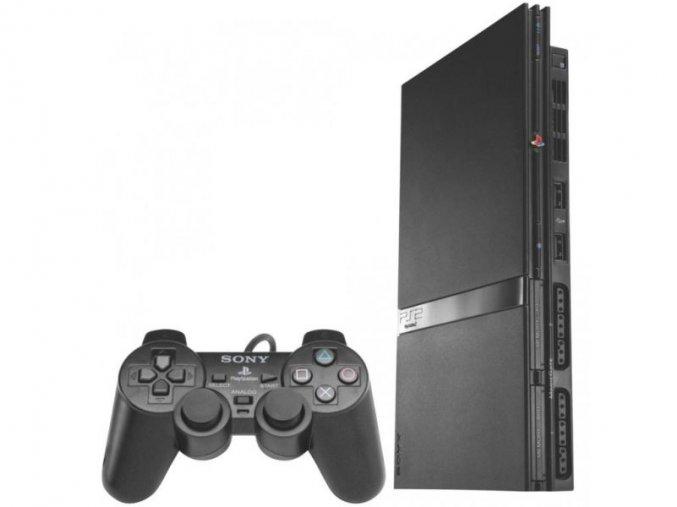 PlayStation 2 SLIM + ovladač