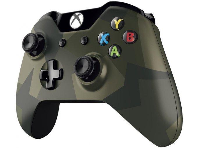 XBOX ONE Microsoft Bezdrátový ovladač pro Xbox – speciální edice Armed Forces ll