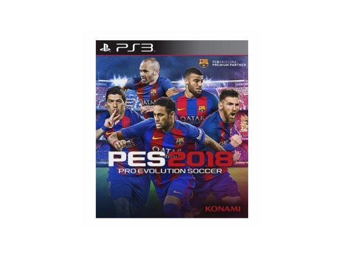 PS3 Proevolution soccer 2018