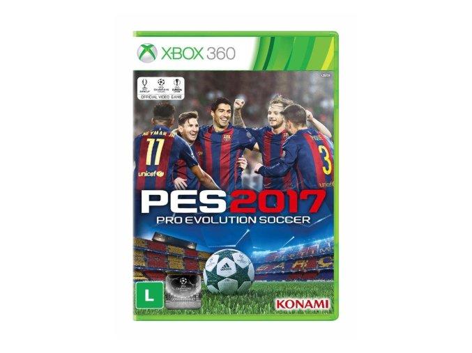 XBOX 360 Pro evolition soccer 2017