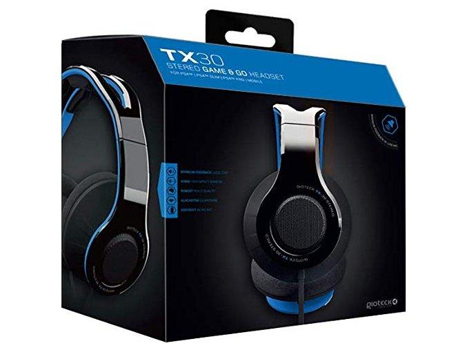 PS4 Gioteck TX-30 herní sluchátka
