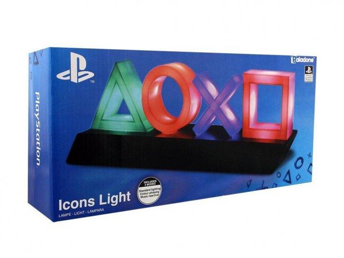 3D světlo -  Playstation Icons (nové)