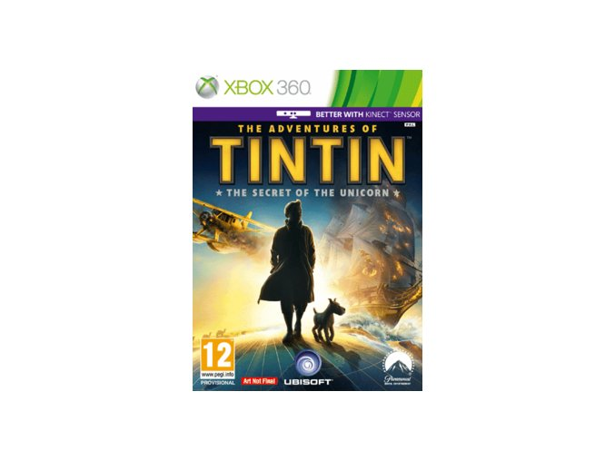 XBOX 360 The Adventures Of Tintin: The Secret Of The Unicorn