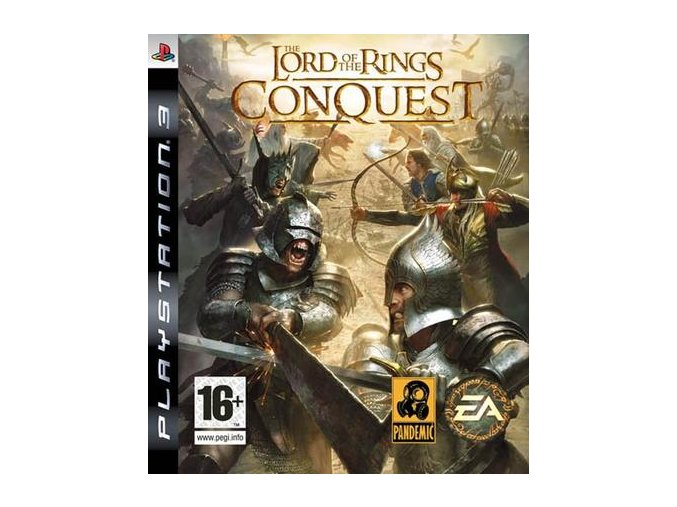 PS3 Lord Of The Rings: Conquest
