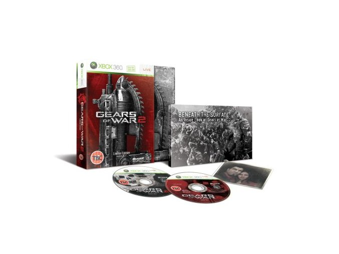 XBOX 360 Gears Of War 2 Limited Collectors Edition