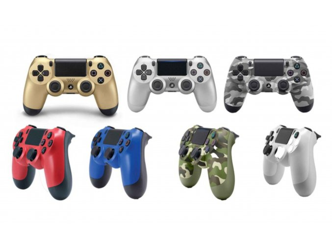 PS4 Dualshock 4 V2 Bezdrátový ovladač ORIGINÁLNÍ