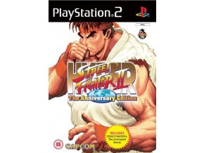 PS2 Hyper Street Fighter2 The Anniversary Edition