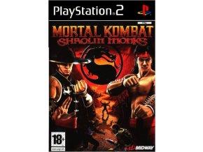 PS2 Mortal Kombat Shaolin Monks