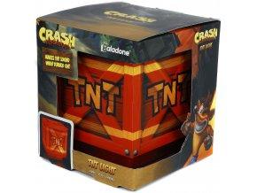 Crash Bandicoot TNT 3D lampa (nové)