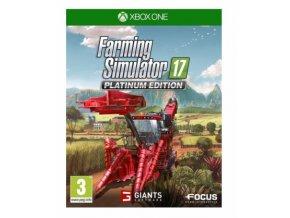 XBOX ONE Farming Simulator 17 Platinum Edition