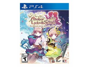 PS4 Atelier Lydie Suello The Alchemists And The Mysterious Paintings