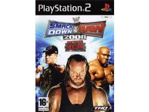 PS2 WWE SmackDown vs. Raw 2008