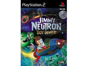 PS2 Jimmy Neutron Boy Genius