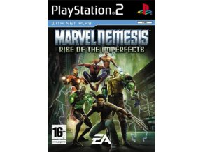 PS2 Marvel Nemesis Rise of the Imperfects