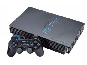 PlayStation 2 FAT + ovladač + karta