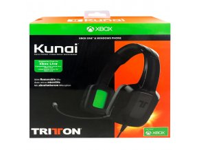XBOX ONE Tritton Kunai herní sluchátka (nové)