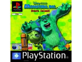 PS1 Disney Pixar's Monsters, Inc. Scare Island