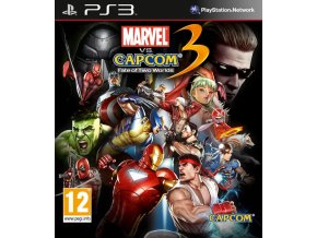 PS3 Marvel VS Capcom 3
