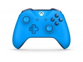 Microsoft XBOX ONE Bezdrátový ovladač - blue