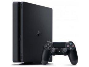 Sony PlayStation 4 SLIM 1TB + ovladač (stáří 1 měsíc)
