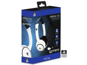 PS4 4Gamers PRO4-40 herní sluchátka