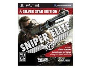 PS3 sniper elite v 2 silver star edition