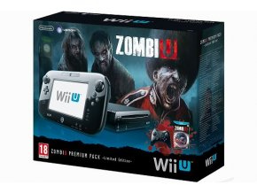 Nintendo Wii U Black Premium Pack (32GB) Limited Edition + ZombiU + Mass effect 3