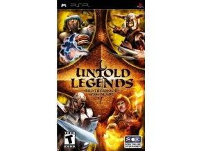 PSP untold legends